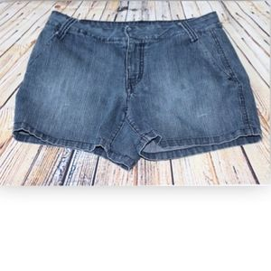 Apt 9 Women's Blue Denim jean Short Shorts